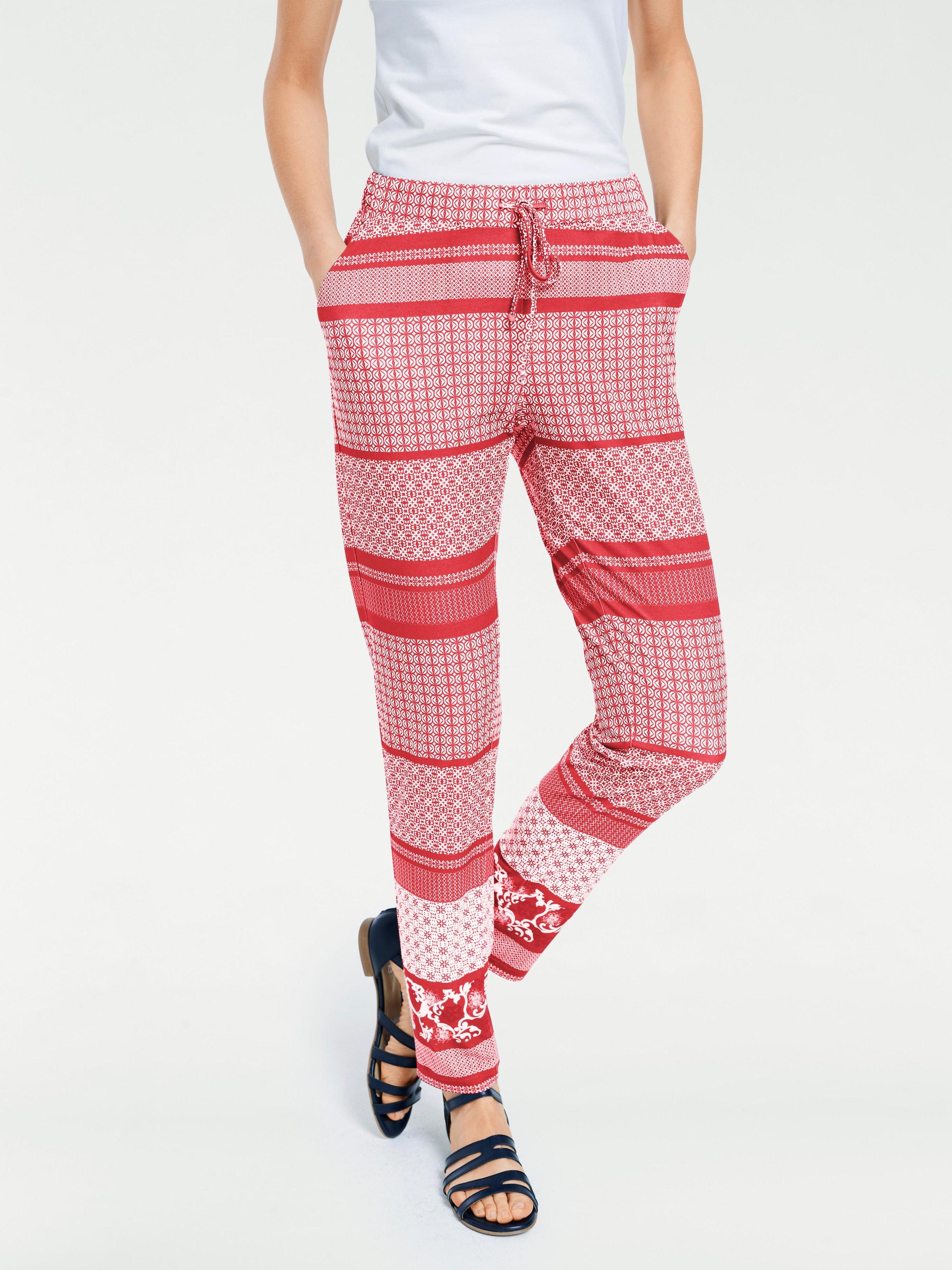 Heine Pantalon En Heine Pantalon Rouge En byYfg76v