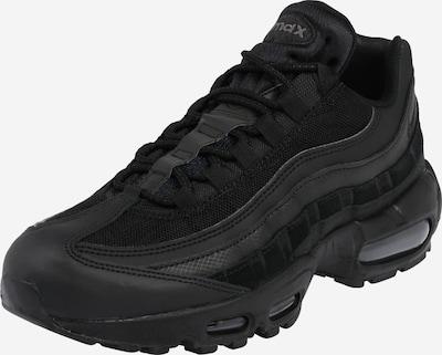 Nike Sportswear Ниски сникърси в тъмносиво / черно, Преглед на продукта