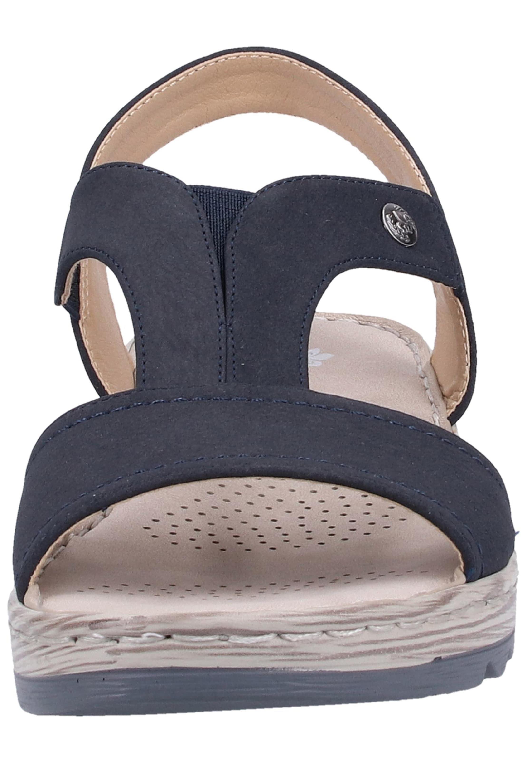 Rieker Sandales En À Lanières Marine Bleu R4jAL5