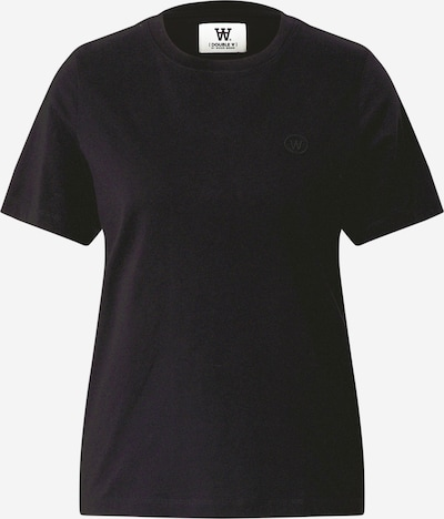 WOOD WOOD T-shirt 'Mia' in schwarz, Produktansicht