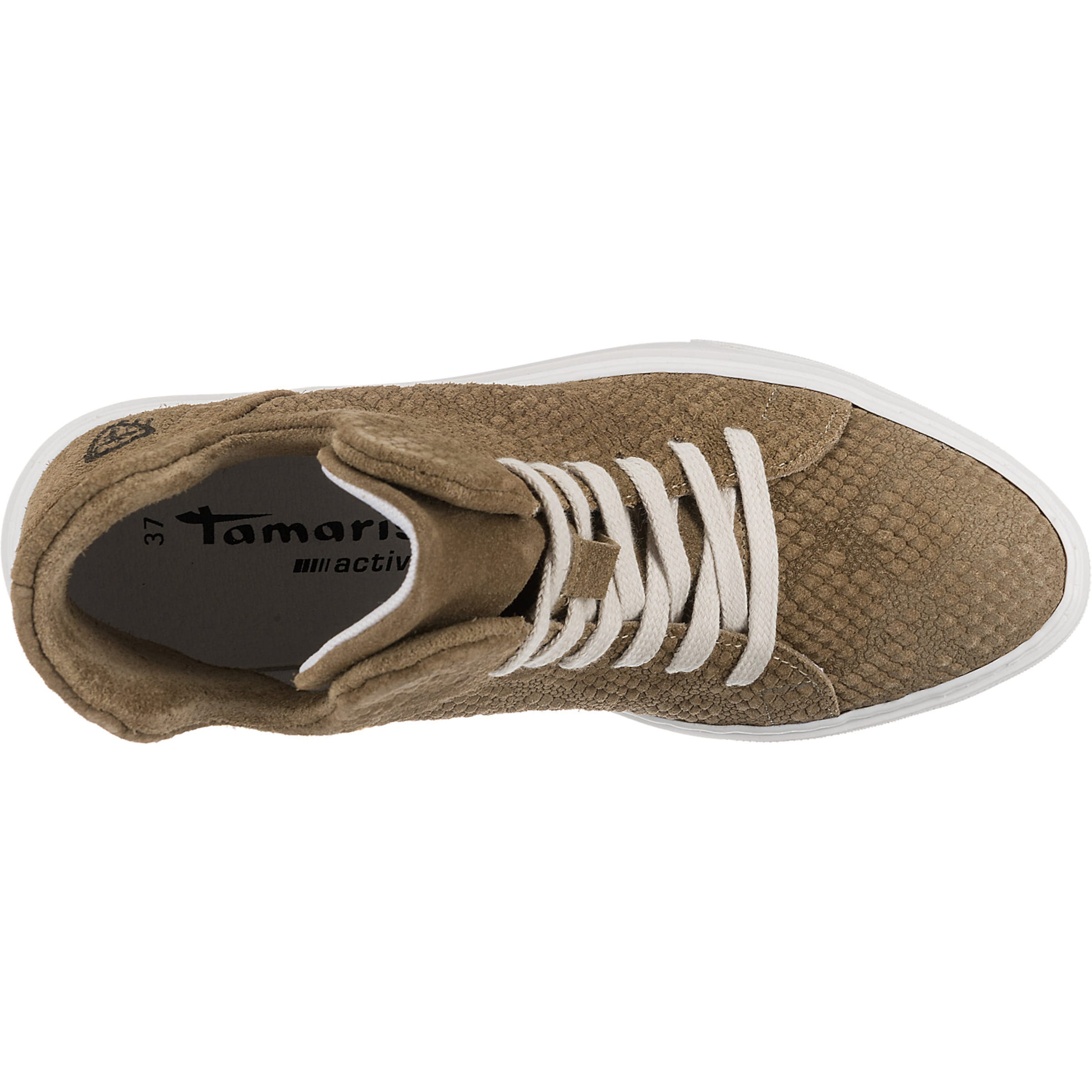 In Sneaker Tamaris Carlota Sneaker Dunkelbeige Carlota Tamaris In Dunkelbeige Tamaris 2DHWE9IY