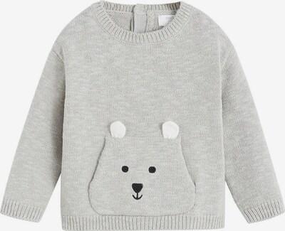 MANGO KIDS Sweter 'Cangu' w kolorze nakrapiany szarym, Podgląd produktu