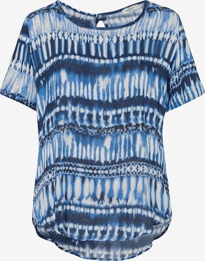 Cross Jeans Shirt in blau, Produktansicht