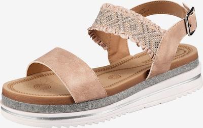 Laufsteg München Sandale in mischfarben / rosa, Produktansicht