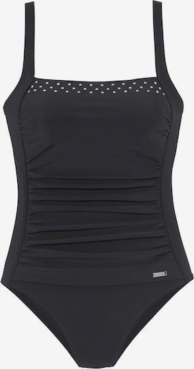 LASCANA Badeanzug in schwarz, Produktansicht