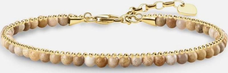 Thomas Sabo THOMAS SABO Armband 'Beige, A1715-075-19-L19v'