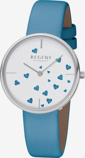 REGENT Regent Quarzuhr »Herzensache, BA-607 3217.78.14« in hellblau / silber / weiß, Produktansicht