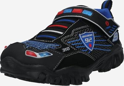 SKECHERS Sneaker 'DAMAGER III' in blau / rot / schwarz / weiß, Produktansicht