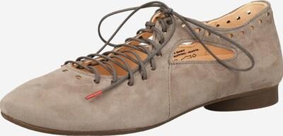 THINK! Schnürschuh in taupe, Produktansicht