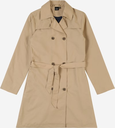 LMTD Trenchcoat 'MERLE' in beige: Frontalansicht