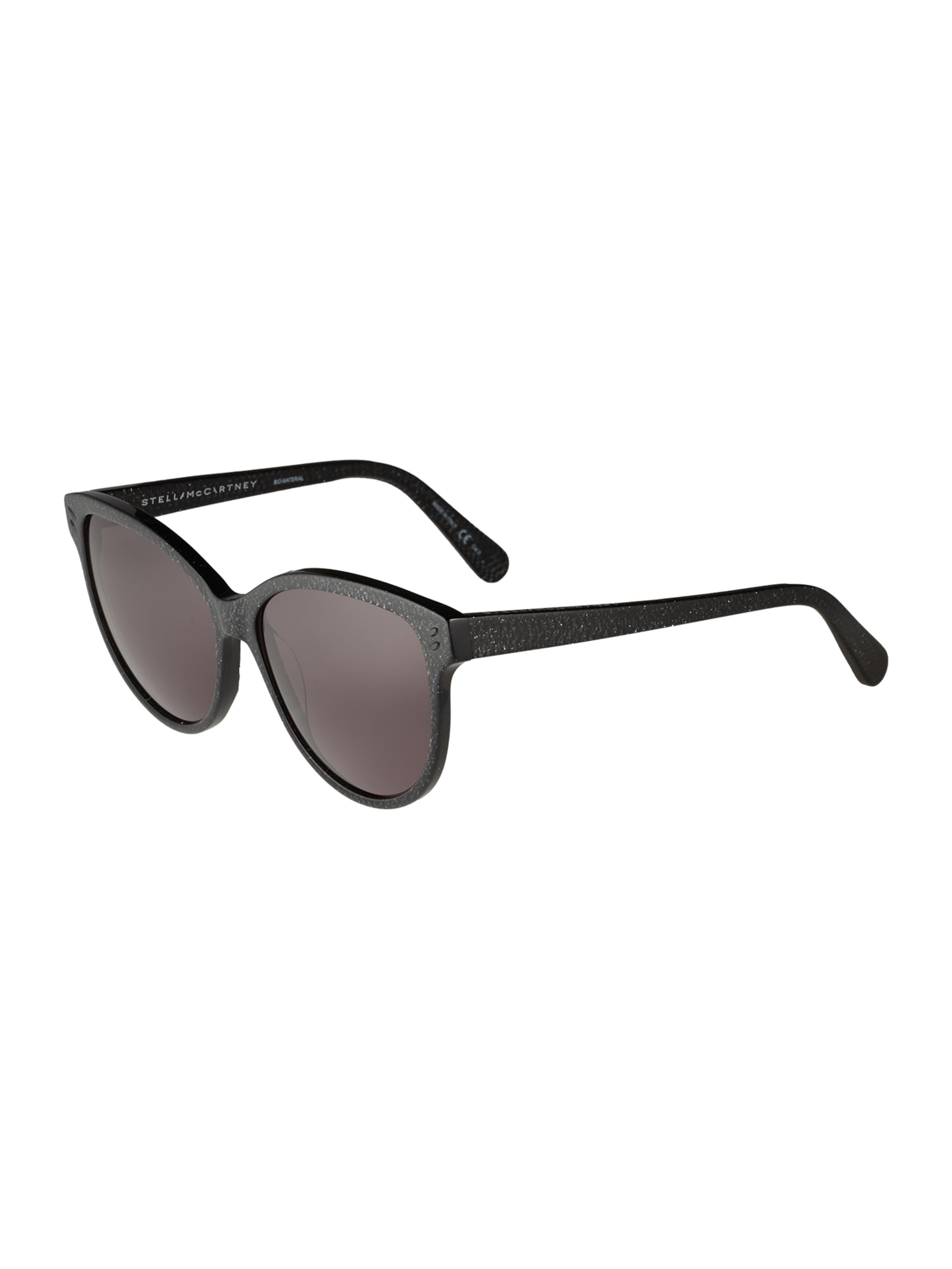 Stella McCartney Solglasögon 'SC0002S 57 Sunglass WOMAN BIO ACETAT' i grå / svart