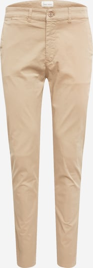 By Garment Makers Pantalon chino en beige, Vue avec produit