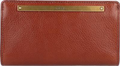 FOSSIL Geldbörse 'Liza' in braun / gold, Produktansicht