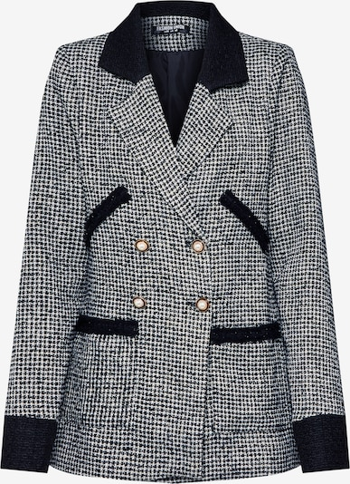 Fashion Union Blazer 'ARLIE' in schwarz / weiß, Produktansicht