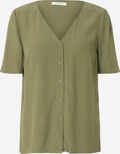 PIECES Blouse 'Cecilie' in Olive, Item view