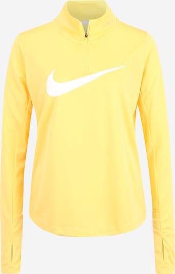 NIKE Shirt in gelb / weiß, Produktansicht