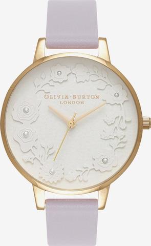 Olivia Burton Uhr 'Parma' in Lila