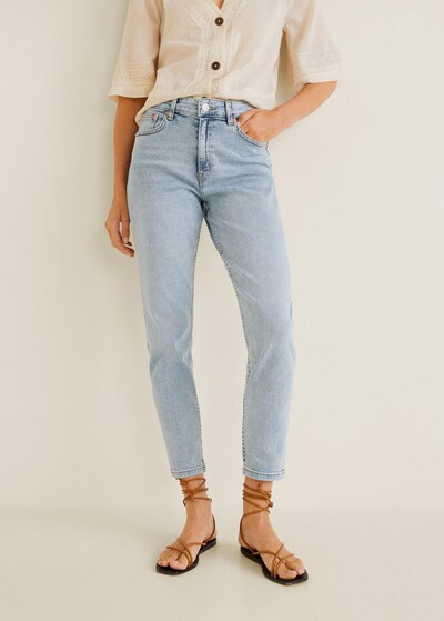 MANGO Jeans 'Mom' in hellblau, Modelansicht