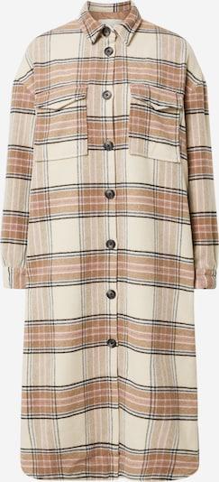 ONLY Manteau mi-saison en beige / bleu / marron / noir, Vue avec produit