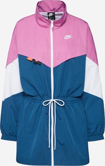 Nike Sportswear Jacke in blau / lila / weiß, Produktansicht