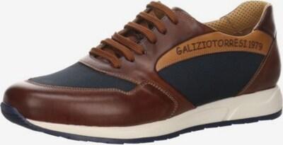 Galizio Torresi Sportlicher Schnürschuh in marine / karamell, Produktansicht