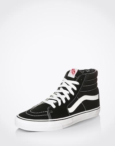 VANS Sneaker 'SK8-HI' in schwarz / weiß: Frontalansicht