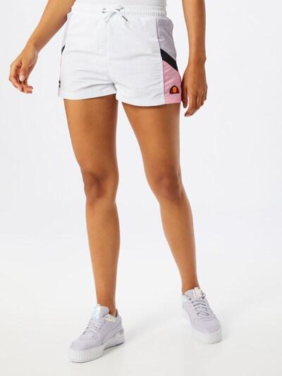 ELLESSE Shorts 'Poscuro' in weiß, Modelansicht
