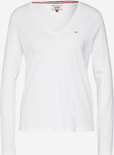fehér Tommy Jeans Póló, Termék nézet