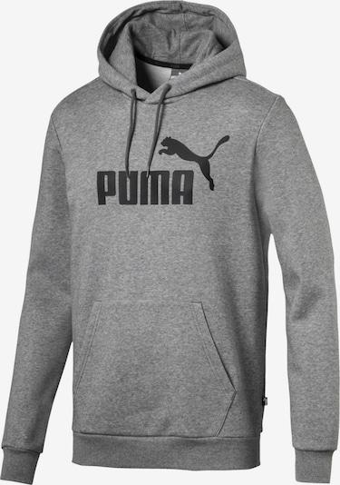 PUMA Sportsweatshirt 'Essentials' in de kleur Grijs / Zwart, Productweergave