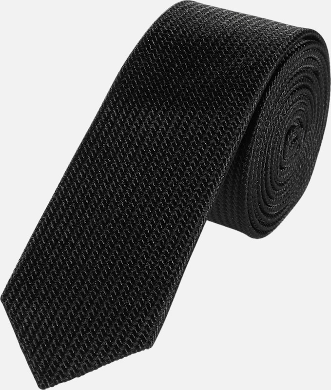 S.oliver Black Label Tie With Structural Pattern