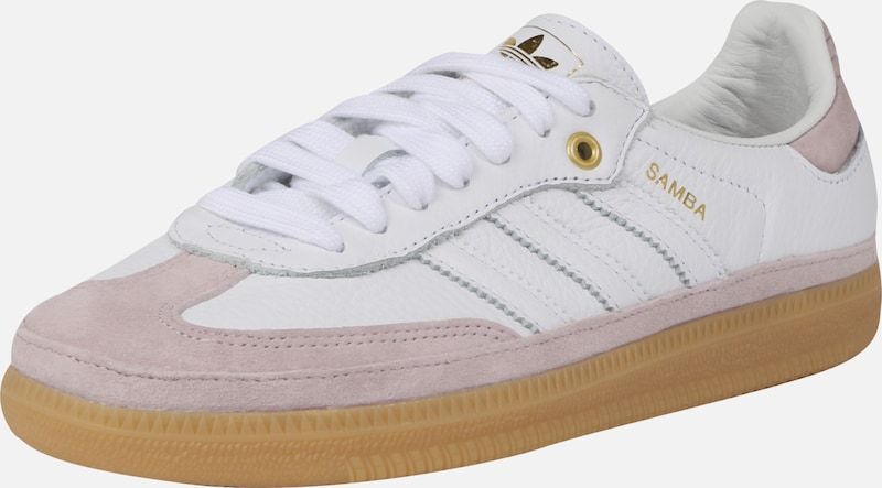 LilasBlanc Adidas Originals 'samba' En Baskets Basses IEH2WD9