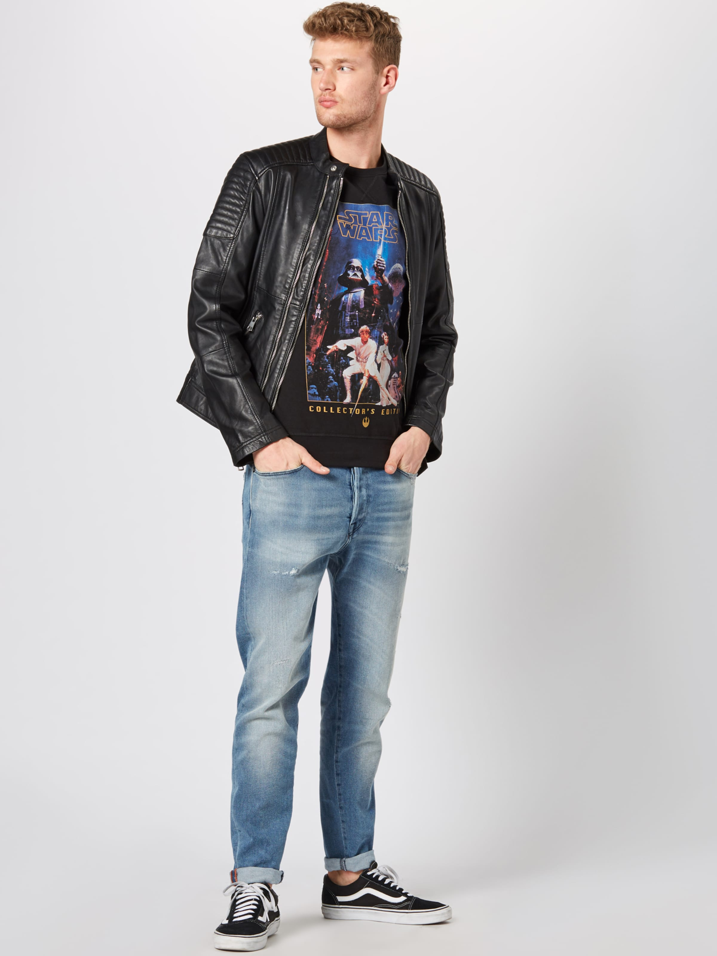 Collectors Tee BlauSchwarz Poster Wars Shirt In 'star Edition Mister Crewneck' TJculFK13