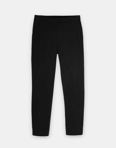 Someday Stoffhosen in schwarz, Produktansicht
