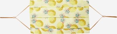 CODELLO Stoffmaske 'COVER UP PINEAPPLE BIG' in gelb, Produktansicht