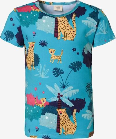 Walkiddy T-Shirt in türkis / mischfarben, Produktansicht