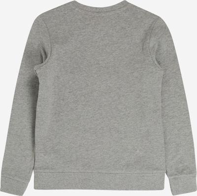 Jack & Jones Junior Sweatshirt 'NEWSHAKEDOWN' in hellgrau: Rückansicht