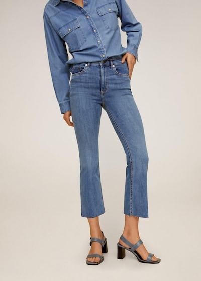 MANGO Jeans in kobaltblau, Modelansicht