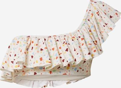 Sutien costum de baie CATWALK JUNKIE pe alb, Vizualizare produs