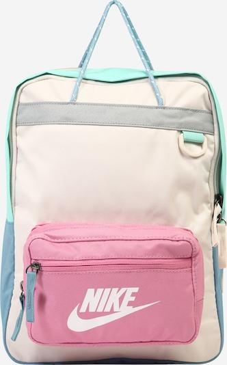 Nike Sportswear Sac à dos 'Tanjun' en beige / menthe / rose, Vue avec produit
