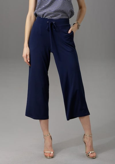 Aniston CASUAL Culotte in navy, Modelansicht