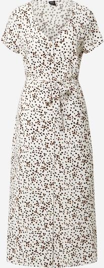 s.Oliver BLACK LABEL Obleka | rjava / črna / bela barva, Prikaz izdelka