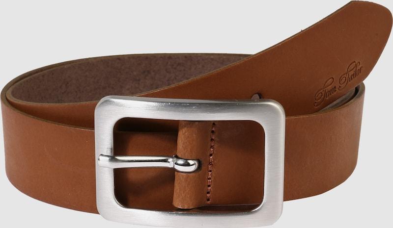 TOM TAILOR Ledergürtel 'soft vintage cow leather belt'