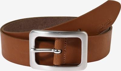 TOM TAILOR Ledergürtel 'soft vintage cow leather belt' in cognac, Produktansicht