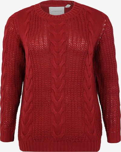Junarose Pullover 'BETTY' in rot, Produktansicht