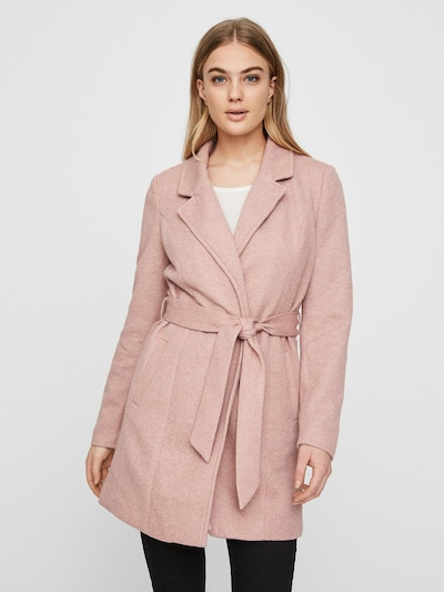 VERO MODA Trenchcoat in rosa, Modelansicht