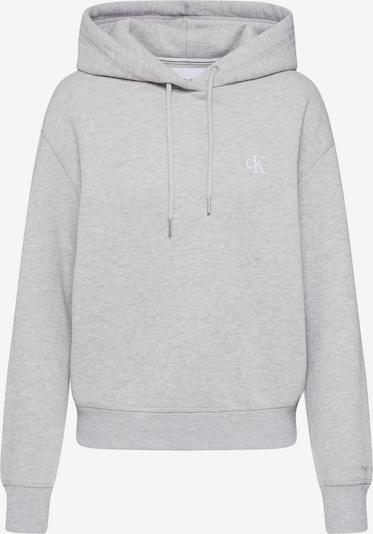 Calvin Klein Jeans Sweatshirt 'CK EMBROIDERY HOODIE' in grau, Produktansicht