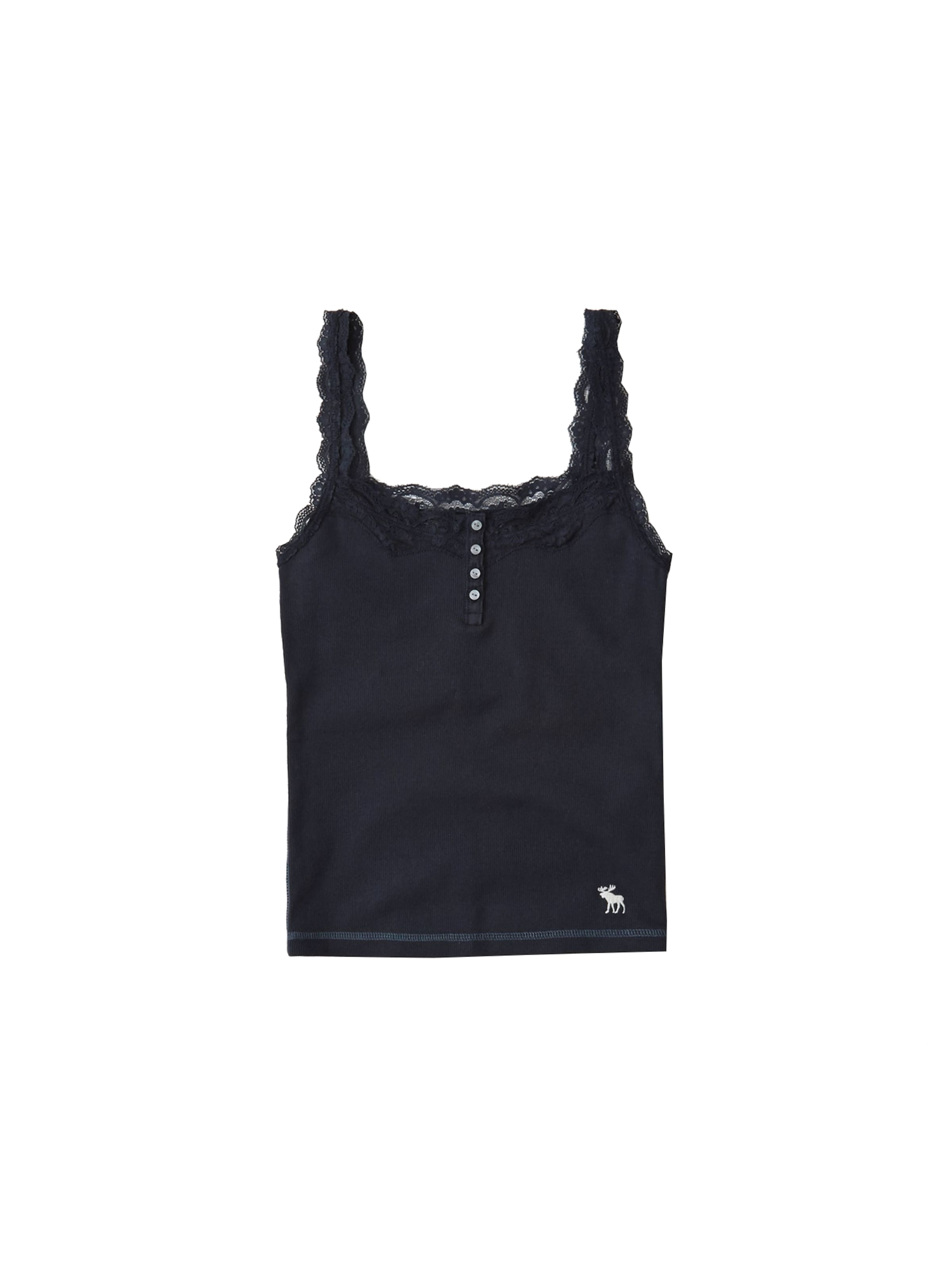 Cami' Lace Abercrombieamp; Top Fitch Navy 'moose In 543jARScLq
