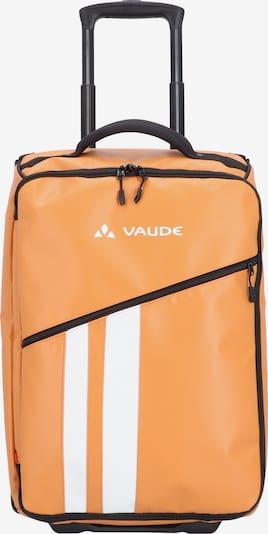 VAUDE Trolley 'Rotuma 35' in de kleur Sinaasappel / Wit: Vooraanzicht