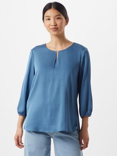 HUGO Bluse 'Caela-1' in blau, Modelansicht