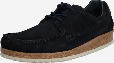 BIRKENSTOCK Chaussure à lacets 'Sacramento Suede' en bleu nuit, Vue avec produit